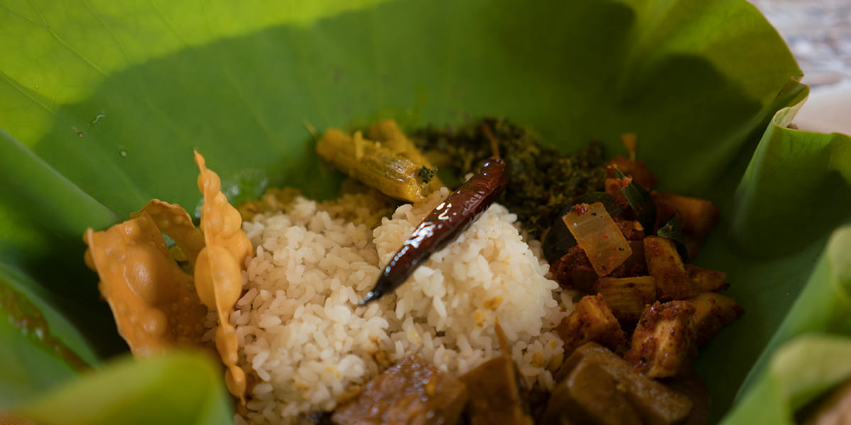 Sri Lanka curry dish