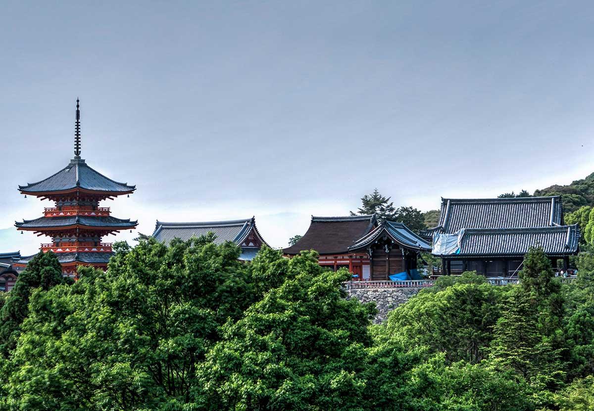Things to do in Kyoto travel - Kiyomizu-dera temple