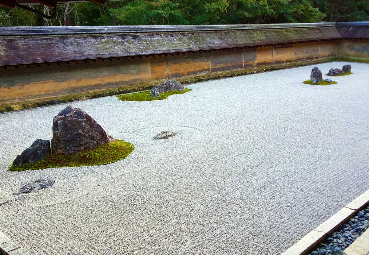 Things to see in Kyoto - Ryoanji-temple and its Zen garden