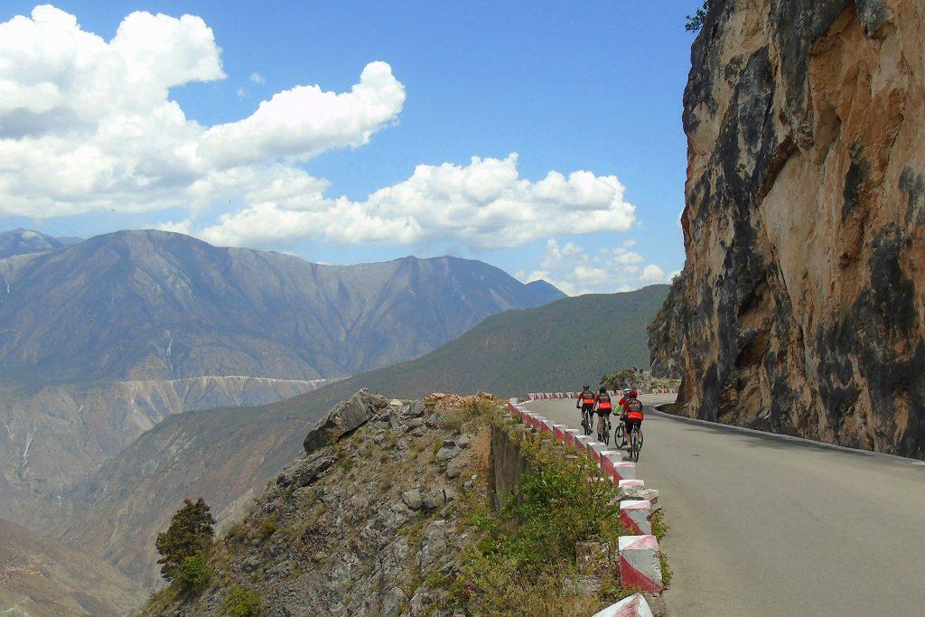 Cycling the mountain roads of Yunnan, China