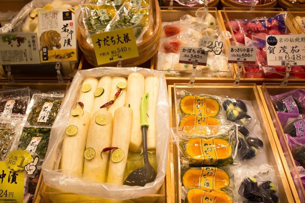 tasty Japanese snacks