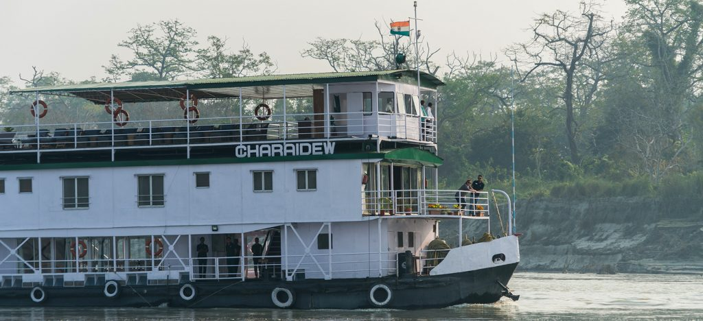 Charaidew boat in India