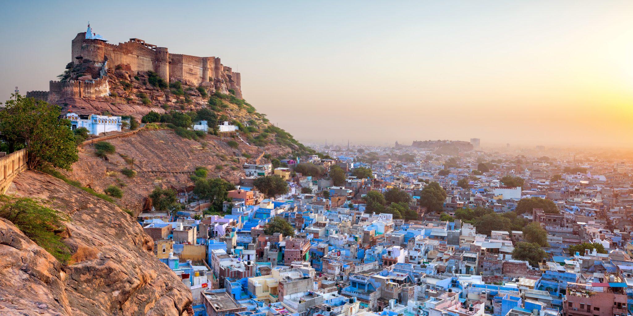 Blue city Jodhpur - India Bike Tour Rajasthan