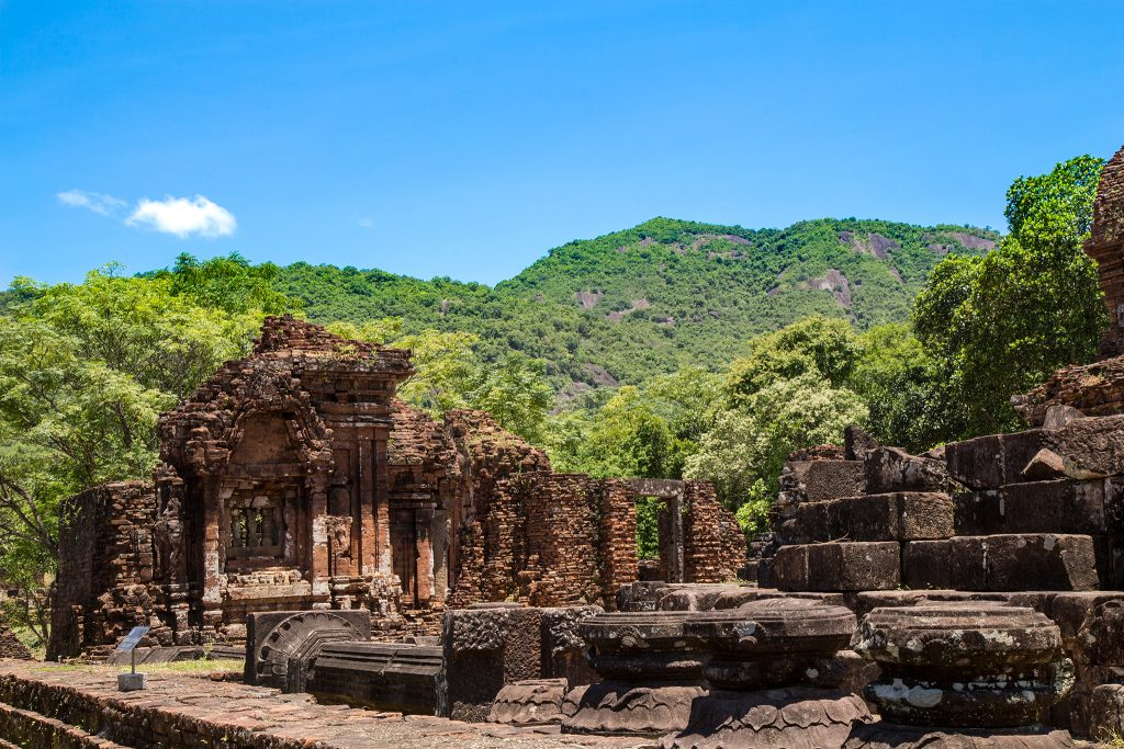 Ruins of My Son near Hoi An, Vietnam