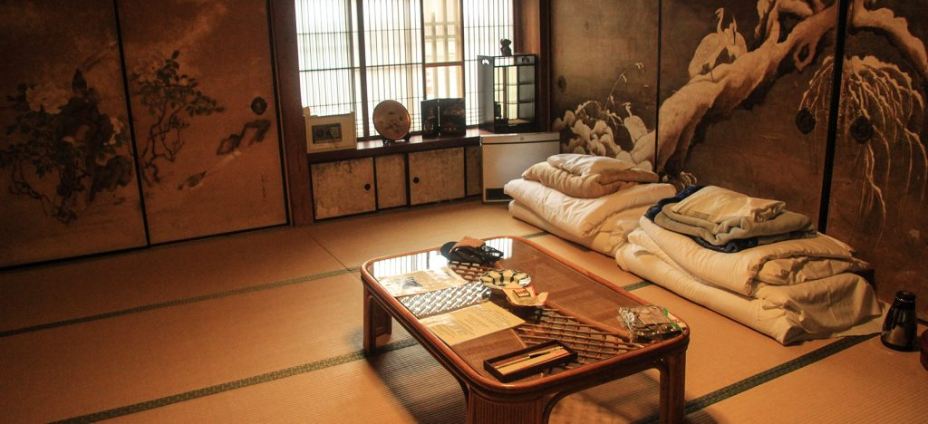 Traditional Ryokan accommodation in Japan