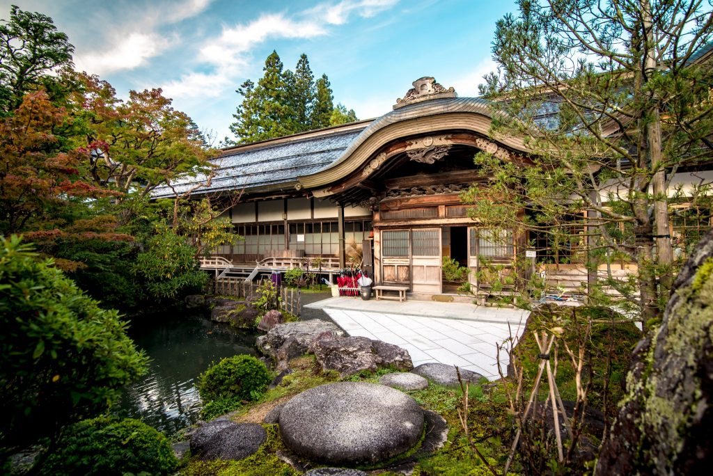 Traditional accommodation in Japan