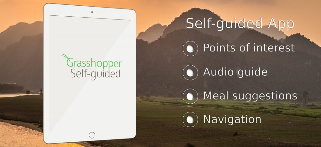 Self-guided Grasshopper app on iPad