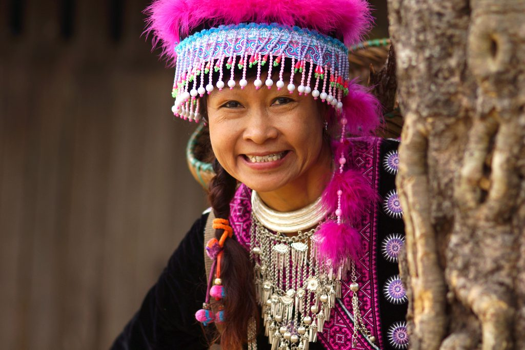 Hmong woman in Laos