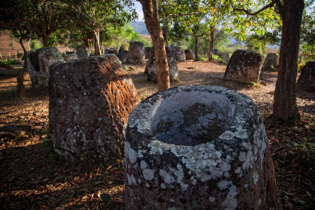 Mysterious jars in Xieng Khouang, Laos