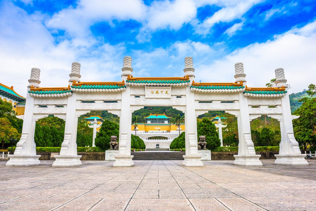 National Palace in Taiwan