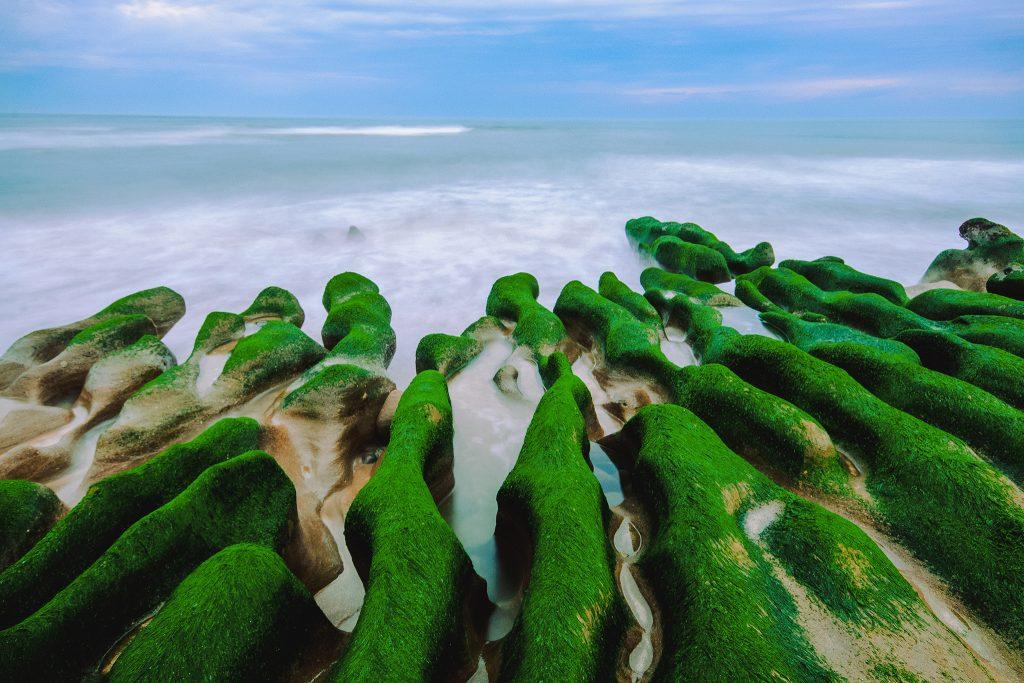 Seashore in Lao Mei, Taiwan
